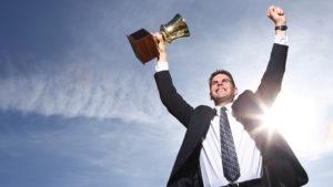 Церемония награждения победителей городского конкурса «Предприниматель года»