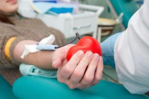 Сдавая кровь – спасайте жизни