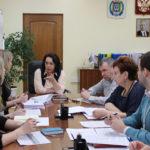 рабочее совещание с руководителями органов администрации Радужного.