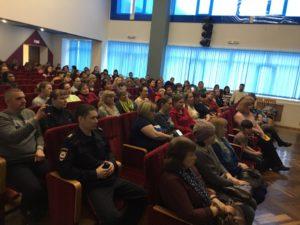 Инспектор по делам несовершеннолетних Отдела Полиции Радужного выступил на городском родительском собрании