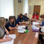 Глава города Наталья Гулина провела рабочее совещание по вопросам реализации нацпроектов