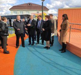 Борис Хохряков проинспектировал ряд объектов в рамках партпроекта «Городская среда» и нацпроектов в Урае