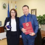Награждение Тимофеева Льва Юрьевича