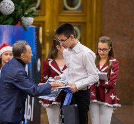 Радужнинца наградили в московском Музее Победы за лучший рисунок Елки Победы